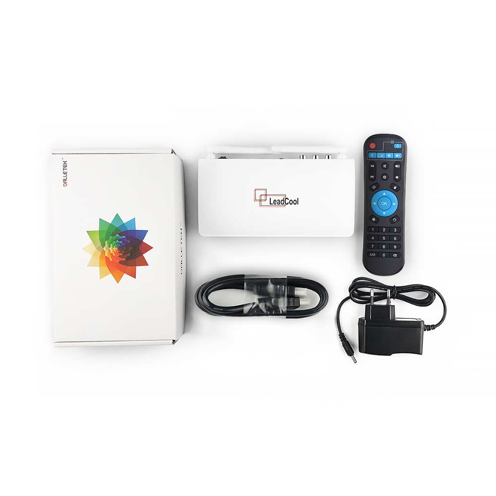 Image 5 - IPTV France Arabic Italy IP TV Leadcool Android 8.1 Tv Box IPTV French Subscription Italia Spain Portugal Qatar Belgium IP TV-in Set-top Boxes from Consumer Electronics