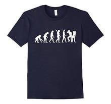 Design Custom Shirts Best Friend Evolution Line Dance O-Neck Short-Sleeve For Men