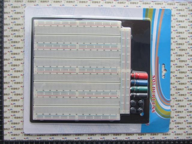 3220 Hole Point Solderless Breadboard Welding Free Circuit Test Board ZY-208 MB-102 Breadboard plastic solderless breadboard 840 tie point pcb panel 175 x 67 x 8mm