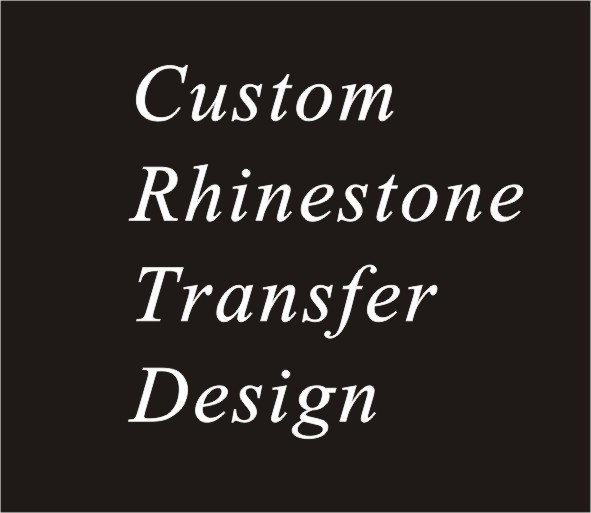 20 stks/partij custom rhinestone transfer motif ontwerp, custom hot fix strass motief ontwerp, ijzer op strass motief-in Bergkristallen van Huis & Tuin op  Groep 1
