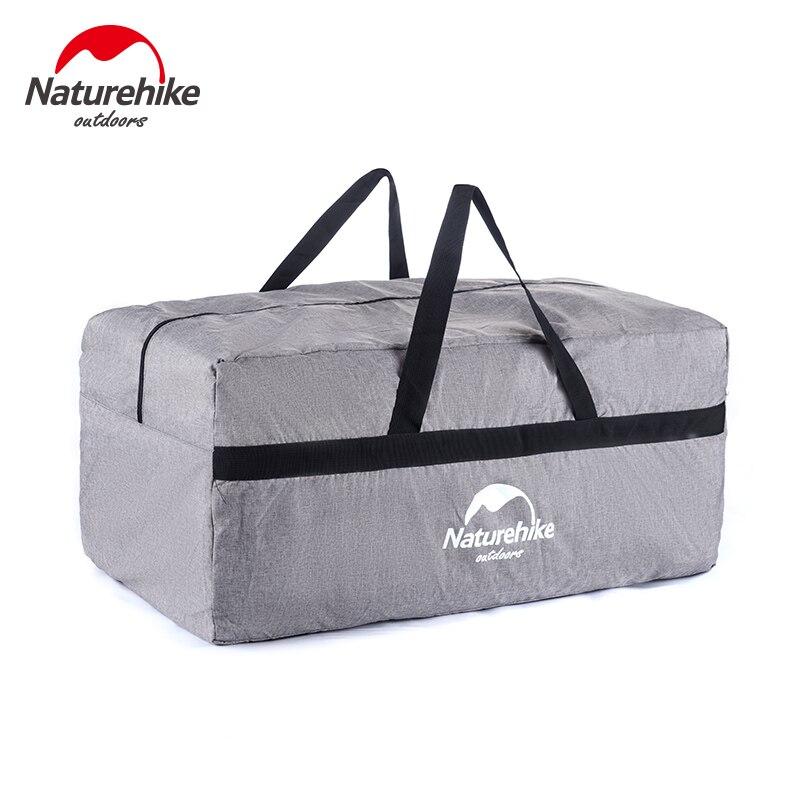 Prix pour Marque NatureHike 100L Haute Qualité Nylon Haute Capacité Bagages Sac Voyage Camping Portable buggy sac Tourisme Paquet Sacs