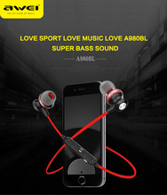 Awei A980BL Bluetooth earphone Wireless Headphones Surround sound Intelligent noise reduction