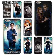 MaiYaCa American Tv Series Shadowhunters Coque Shell Phone Case  for iphone 11 Pro 8 7 6 6S Plus X 5 5S SE Cover XS XR XSMAX nbdruicai american tv series shadowhunters black soft shell phone case for iphone 11 pro xs max 8 7 6 6s plus x 5s se xr case
