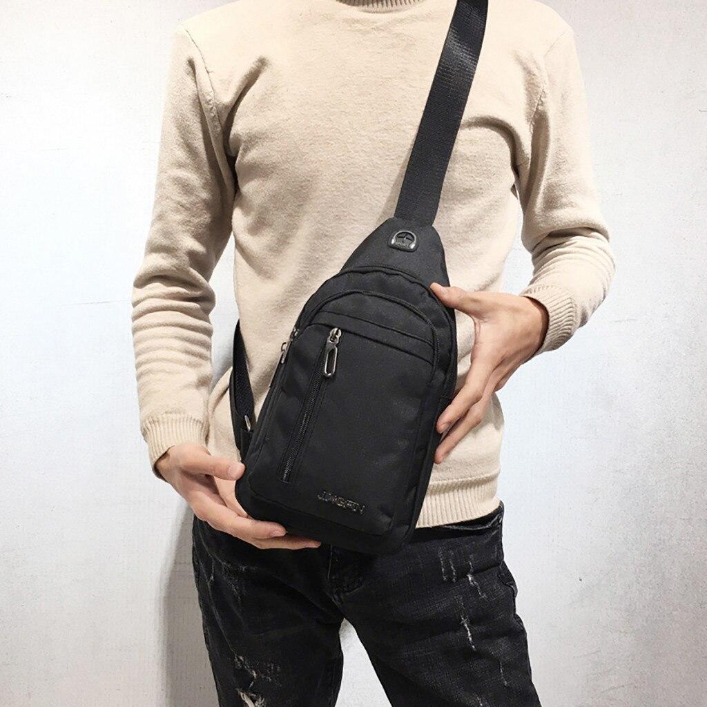 Men's Belt Bag Fashion One Shoulder Plaid Chest Bag Small Messenger Bag Fanny Waist Pack Bags Crossbody Sling Chest Bag For Men
