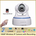 HOSAFE 2MW1 1080P Wireless IP Camera HD Pan/Tilt plug and play two way voice  ONVIF IP Camera Software and IP Camera DVR
