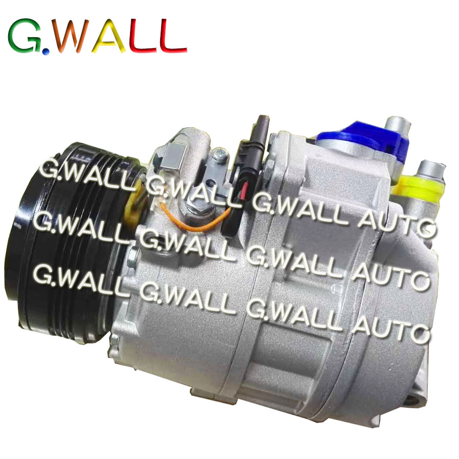 US $178 2 10% OFF|Air Conditioning Compressor For BMW X5 E70 SUV 3 0D SD  Diesel 2007 2008 2009 A/C Compressor A41011A90022 07018024 9121762 03-in