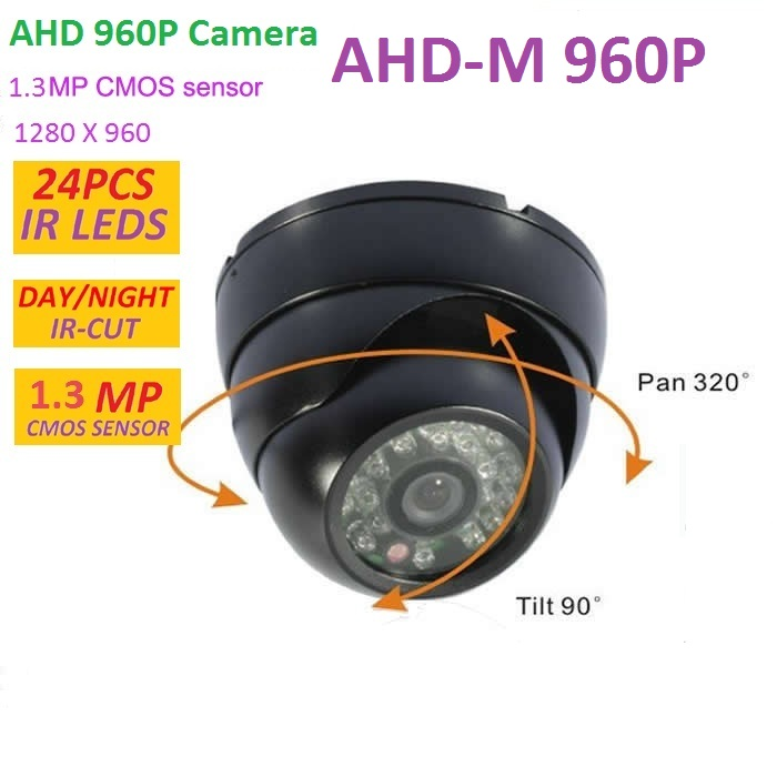 1.3 MP CMOS CCTV AHD Camera 960P AHD-M 2500TVL Security Surveillance Mini Dome Camera with IR Cut Filter Night Vision 1080P Lens 4 in 1 ir high speed dome camera ahd tvi cvi cvbs 1080p output ir night vision 150m ptz dome camera with wiper