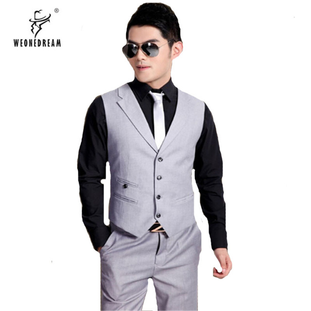 New Blazer Wedding In 2018 Men Chaleco Fit Waistcoats Hombre 18 Waistcoat Off 20 For Mens Suit Fashion Slim Vest Us Vests 48 Dress Male Arrival qwBAXAxF