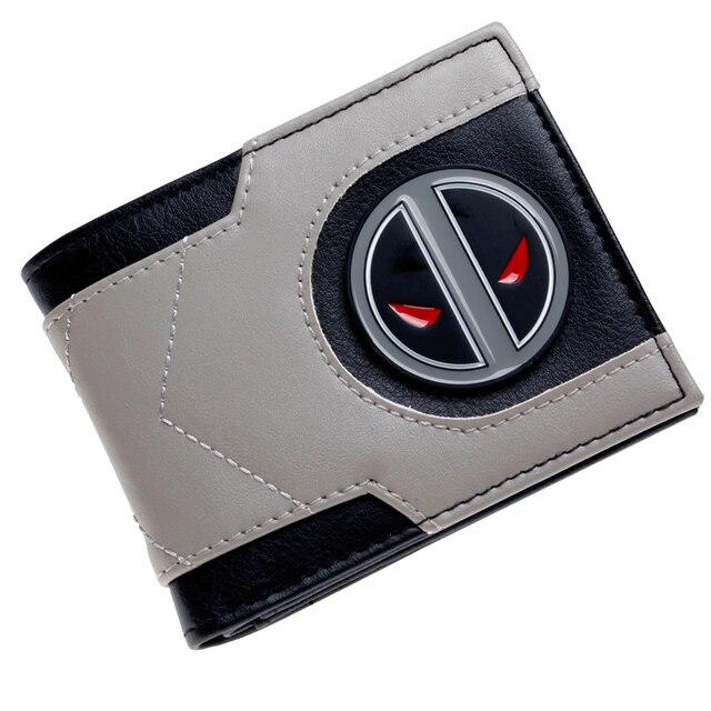 Кошелек Marvel Дэдпул эмблема модель №6 1