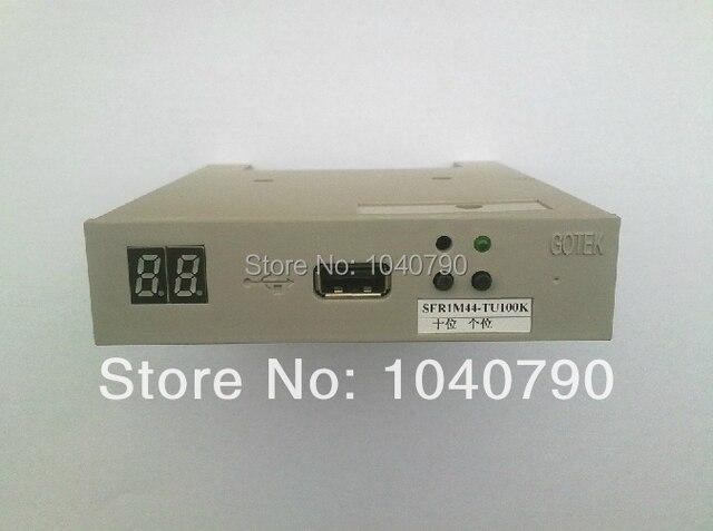 "Free shipping SFR1M44-TU100K 3.5"" 1.44MB USB Floppy Drive Emulator GOTEK for Industrial control equipment"