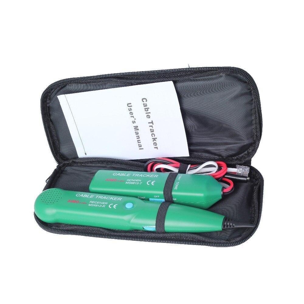 Original MASTECH MS6812 traceur de fil téléphonique UTP Kit d'outils RJ45 RJ11 LAN câble réseau téléphone LineTester