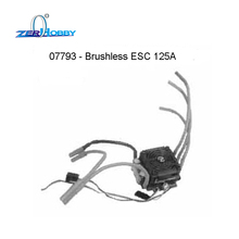 HSP RACING RC CAR SPARE PARTS ACCESSORIES BRUSHLESS ESC 07793 125A AND ESC 07794 150A FOR 1/5 EP BUGGY 94059