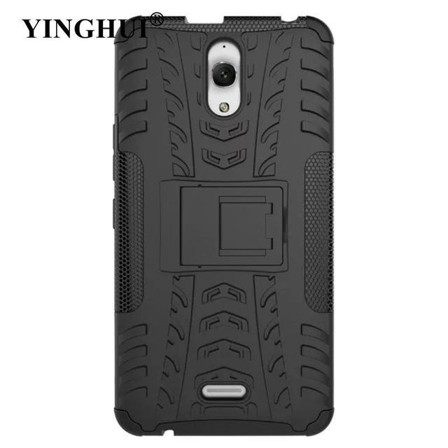 official photos 19bda 1d022 US $3.63 9% OFF|YINGHUI Armor Case For Alcatel Pixi 4 (6) 3G 8050D Case  Hybrid TPU Silicone Phone Cover For Pixi4 OT 8050D OT8050 Case 6.0 Inch-in  ...
