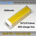 Бесплатная Доставка Anti-Взрыв 2200 мАч Мини Портативный Power Bank Внешнее Зарядное Устройство Powerbank для Samsung S3 iPhone 5 5s