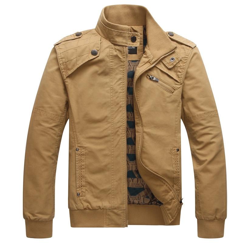 Férfi keskeny dzsekik Állj Nyakörv Casual kabát Férfi - Férfi ruházat