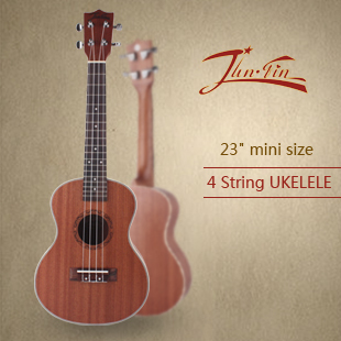 high quality 23 mini size mahogany 4 string ukulele acoustic instrument ukelele small guitar. Black Bedroom Furniture Sets. Home Design Ideas