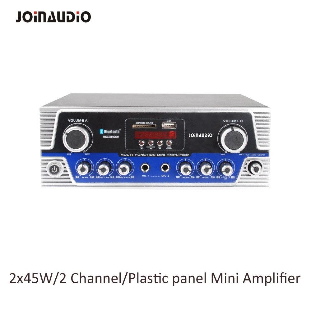 Joinaudio Marke Neue Mini Verstärker 2x45 Watt Kunststoff Panel Mit Transformator GüNstige VerkäUfe Beschallungsanlage/installation Klang Tragbares Audio & Video