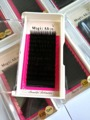 10 caja de extensión de Pestañas Pestañas individuales de Todo el tamaño 0.07/0.15/0.2 9-16mm negro natural curl maquillaje Pestañas Falsas falsas