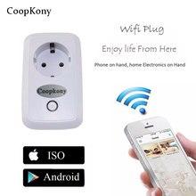 UE Plugue Wi-fi Inteligente Soquete Do Temporizador Wi-fi Adaptador mini wi-fi plug tomada de Controle remoto sem fio Inteligente para iphone ipad Android
