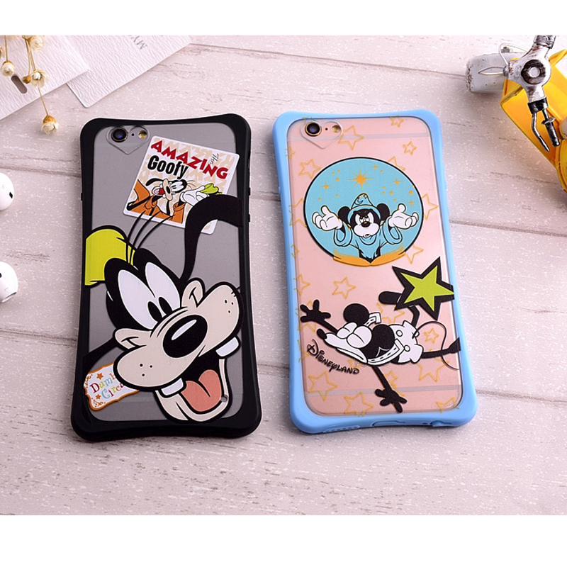 2016 New Phone Case For iPhone 6/6S 6 Plus/6s Plus Amazing Cute Goofy And Flying Mouse For i6/i6s i6 Plus/i6s Plus Phone Cases