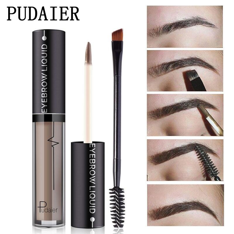 Eyebrow Enhancers Brush Kits Waterproof Henna Eyebrow Gel Black ...