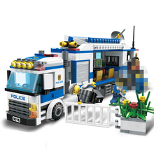 GUDI 9316 Kids Toys 407Pcs Urban City Police Commandos Figures Building Block Figures Toys For Children Compatible brinquedos bela 10424 urban city police police guard building block toys compatible with 60047