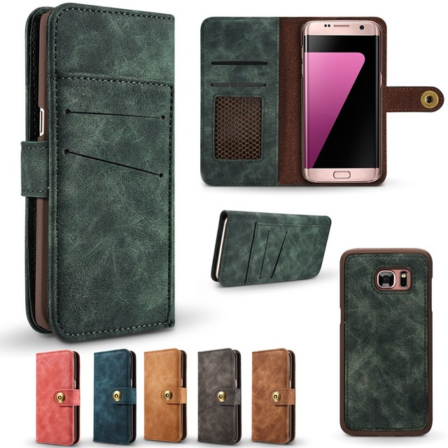 brand new fca4f ca161 US $8.99 40% OFF|Magnetic Detachable Back Cover Wallet Flip Leather Case  Luxury For Samsung Galaxy Note 8 Cover Phone Bags For Samsung Note 8-in ...