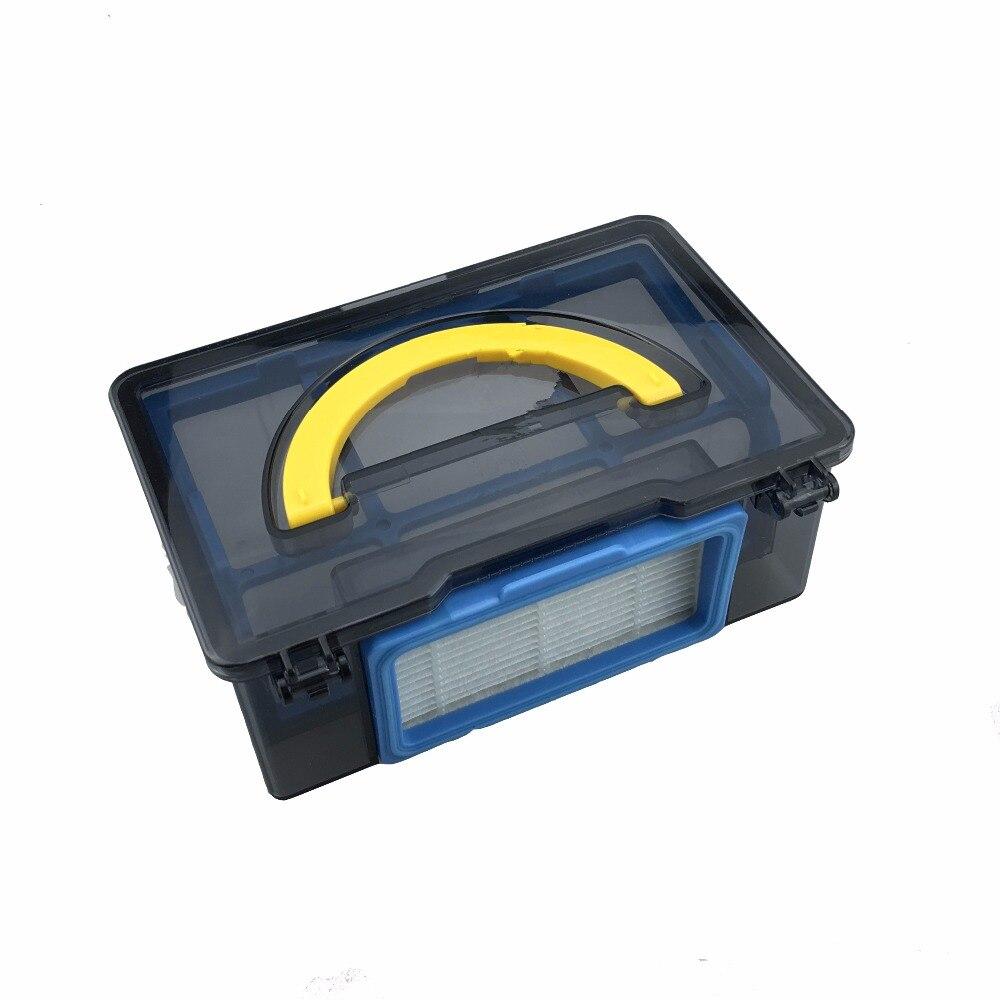 лучшая цена 1 set Dust Box HEPA filter Pre - filter for Gutrend JOY90 FUN 110 Robot Vacuum Cleaner Parts Accessories
