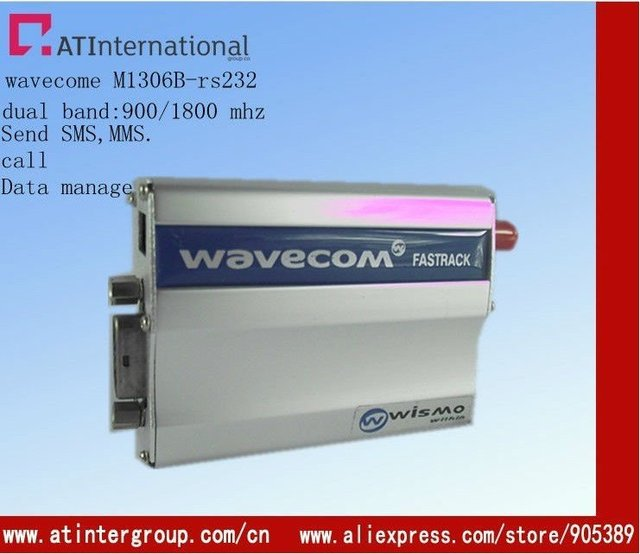 GSM modem Quad band for 850/ 900/ 1800 /1900MHz  support AT command with TCP/IP agreements
