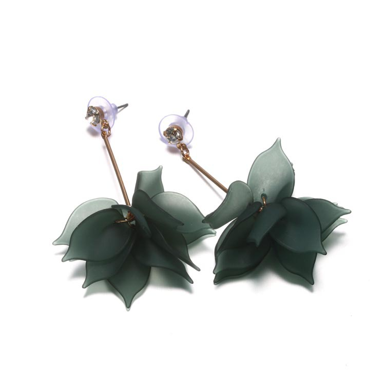 PE Andrea Jewelry Silver Plated Web Stud Earrings For Women Girl Summer Style Silver Ball Earring Ear Studs