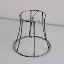 Buy lampshade frame and get free shipping on aliexpress mengdengwei 6pcs dia 12cm iron lampshade frame diy clip on keyboard keysfo Image collections