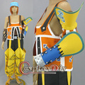 Free Shipping Custom-made Cosplay Anime Costume Final Fantasy X 10 Wakka Cosplay Costume