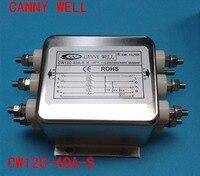 Cw12c 40a s EMI фильтр питания 380 В 40A трехфазный четыре линии электрооборудования