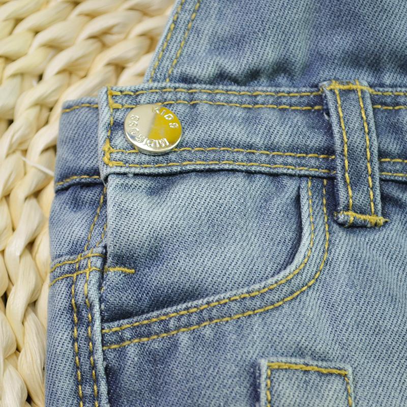 e882531972b0 HSID1701007--3Infant Denim Jumpsuit Toddler Boy Girl Suspender Jeans Shorts  Kid Rompers Bodysuit Pocket Straps