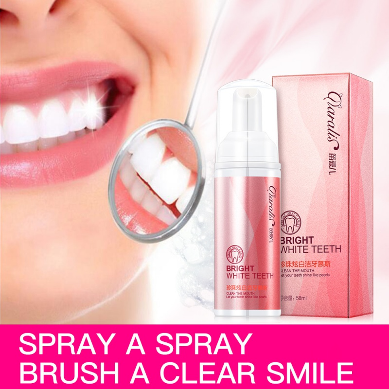 New Teeth Whitening Spray Oral Moisturizer With Toothache Removal Tartar Plaque Bad Breath Treatment Mouth Care Tool