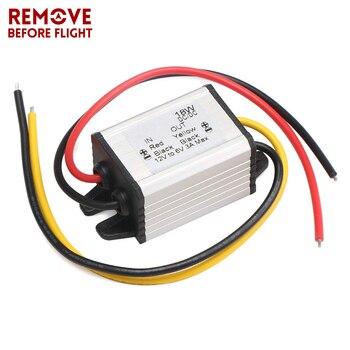 12V a 6V 18W convertidor de inversores de coche DC/ DC tensión regulable regulador impermeable módulo de fuente de alimentación buck