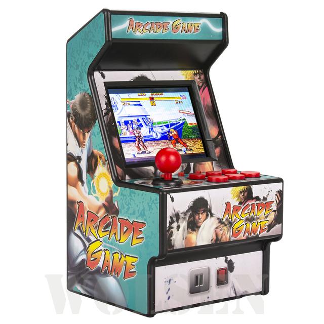 Best popular 16 bit sega arcade mini retro console handheld portable classic game console sega player with 156 games (RHAC01)