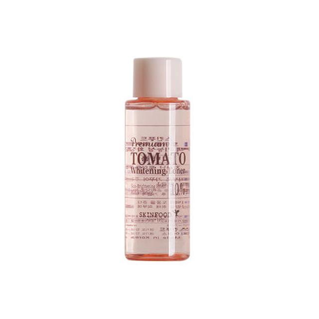 SKINFOOD Premium Tomate Blanqueamiento de Tóner Toners Cara Muestra 50 ml Cuidado de La Piel Anti-Envejecimiento Para Blanquear Hidratante Piel de Tóner