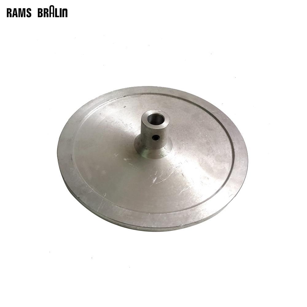 9 Polishing Grinding Aluminum Plate Disc for Flat Machine swingable pneumatic eccentric grinding machine 125mm pneumatic sander 5 inch disc type pneumatic polishing machine