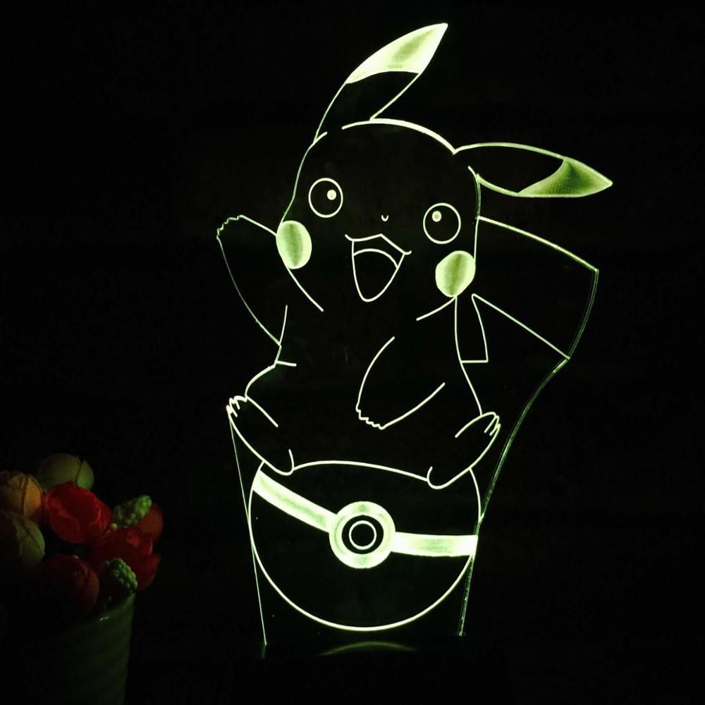 Dragon Ball Super Saiyan 3 Goku 3d Table Lamp Free Shipping Worldwide