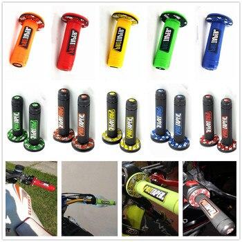 Empuñadura de motocicleta Dirt Bike, empuñaduras de Gel de goma para SUZUKI DRZ400E DRZ400S SM DR250R DJEBEL250XC 250SB Katana