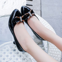 Spring new single shoes women's shoes low shoes Korean fashion students sweet beauty sex work shoes sweet shoes f20 ks1807
