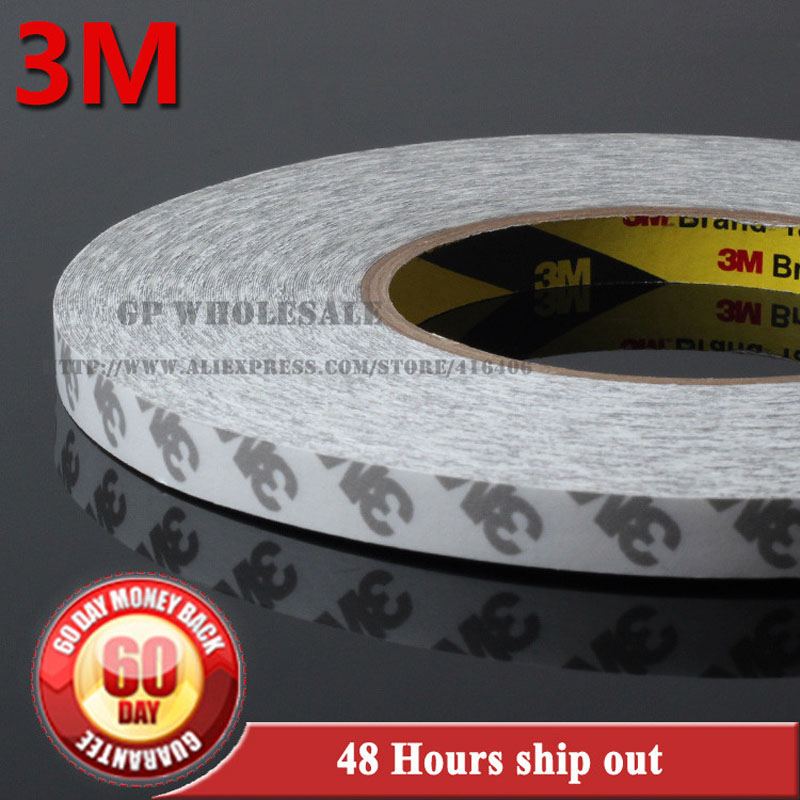 (20cm) 200mm width, 3M 9080 Double Sided Adhesive Tape for Nameplate, Electronic Instrument Panel LCD Screen Bond Common Sticky 200mm 50m 20cm wide 3m strong double sided coated adhesive white tape for nameplate rubber foam plastic surface bond