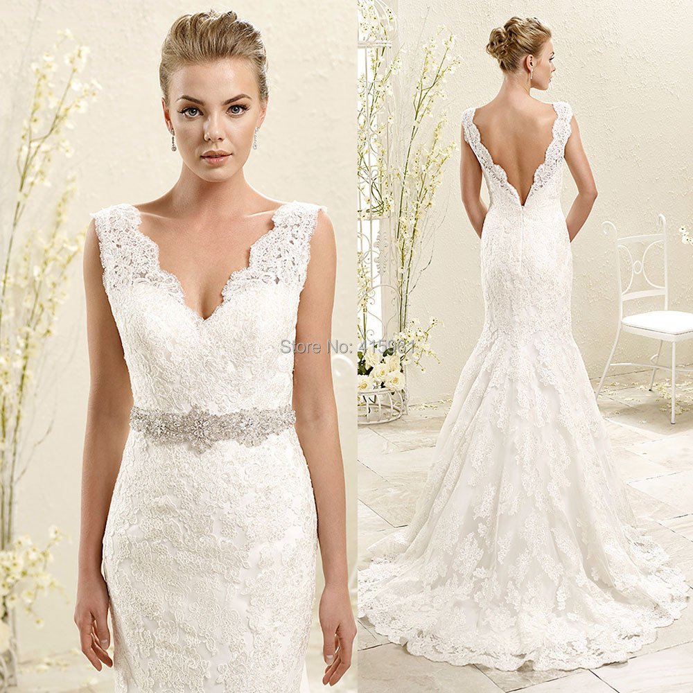 romantic wedding dresses wedding dresses with lace Chiffon Wedding Dresses Lace Weddin