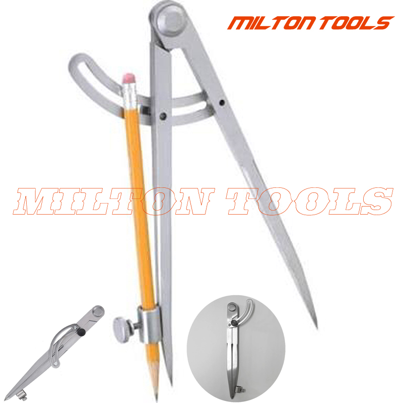 Offen 100mm 150mm 200mm 300mm Einstellbare Flügel Teiler Kanten Creaser Diy Nähen Leder Metall-handwerk Kennzeichnung Leder Handwerk Diy Tools
