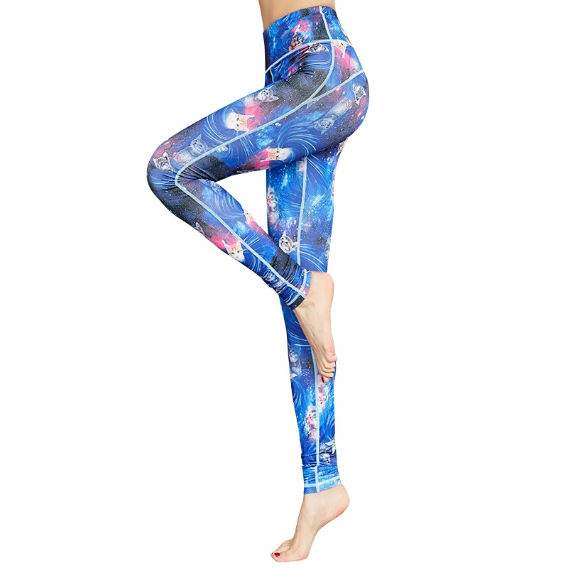 Yoga Pants For Women Sports Fitness Leggings  (6)