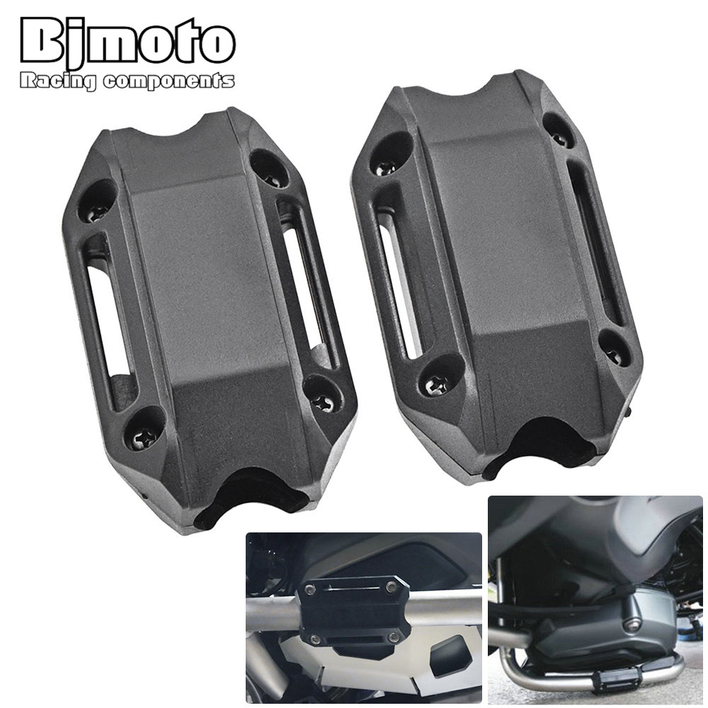 Bjmoto For BMW R1200GS LC ADV F700GS F800GS Motorcycle Motorcross Modified Engine Protection Bumper Block Decorative