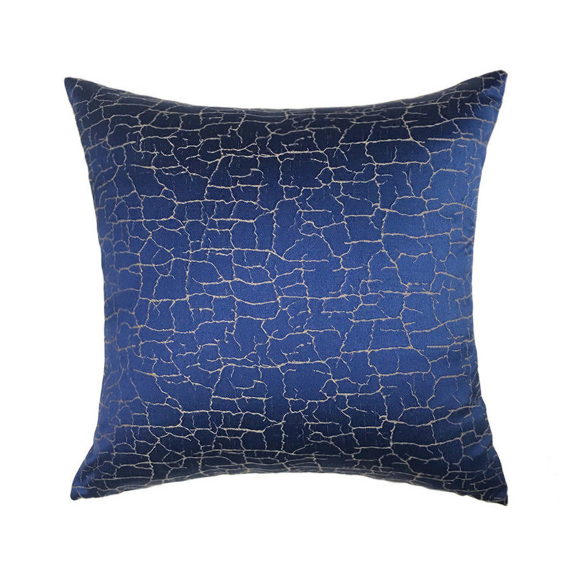 Contemporary Sofa Geometric Pillows: Dark Blue Fashion Woven Contemporary Geometric Sofa Chair