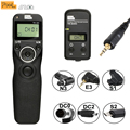 Pixel TW-283 Wireless Time Lapse Remote Control Cable Shutter Release DC0 DC2 N3 E3 S1 S2 For Canon Nikon Sony Camera VS RC-6
