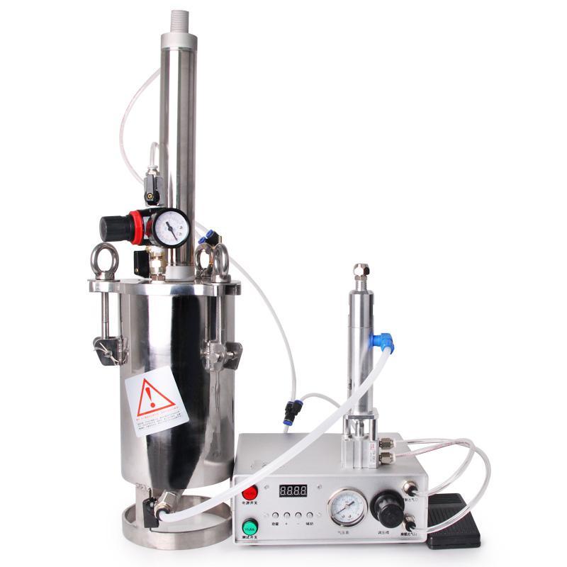 Automatic Dispenser Yellow Glue UV Latex Glue Machine Cylinder Piston Pressure Bucket Dispensing Valve Set